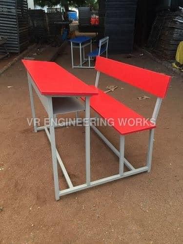 3-Seater-Desk-Bench